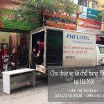 Dịch vụ xe tải tại phố Hà Huy Tập
