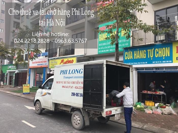 Dịch vụ xe tải tại phố Dương Hà