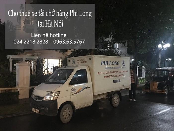 Dịch vụ xe tải giá rẻ tại phố Kim Hoa 2019