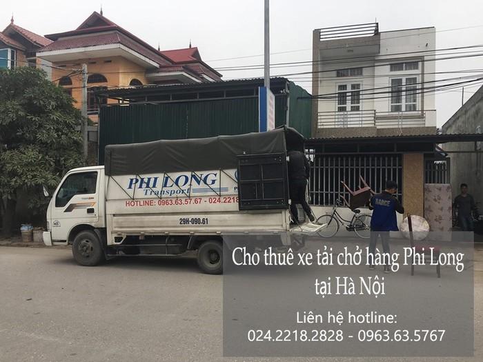 Dịch vụ xe tải giá rẻ tại phố Nguyễn Ngọc Vũ