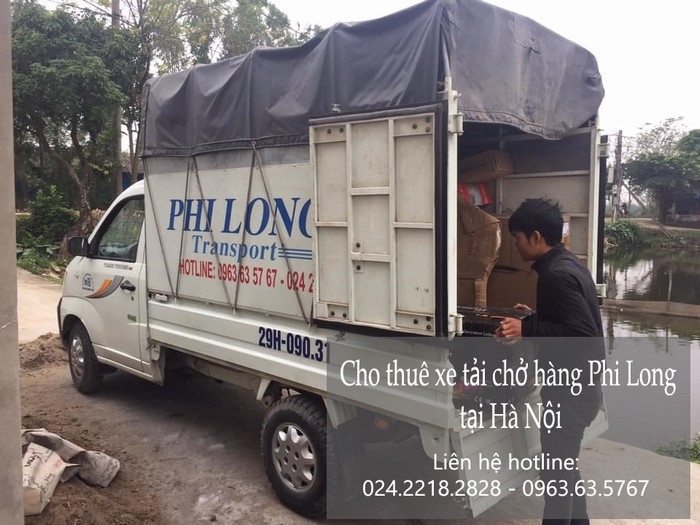Dịch vụ xe tải tại phố Ninh Hiệp