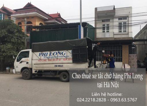 Dịch vụ xe tải tại phố Xuân Đỗ