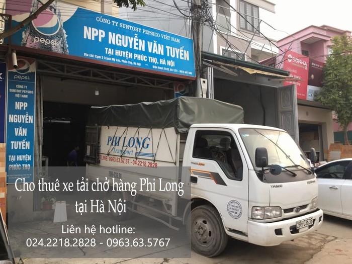 Dịch vụ xe tải tại phố Thiên Đức