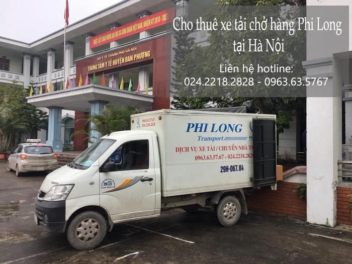 Dịch vụ xe tải tại phố Chính Trung