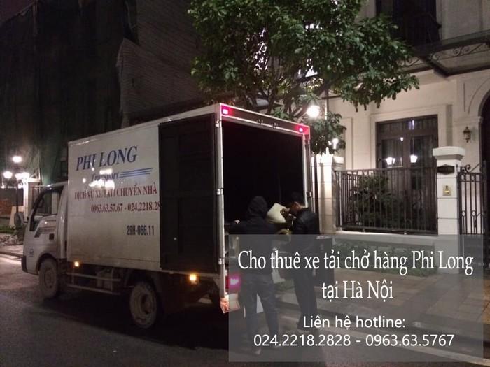 Dịch vụ xe tải tại phố Hoàng Thế Thiện