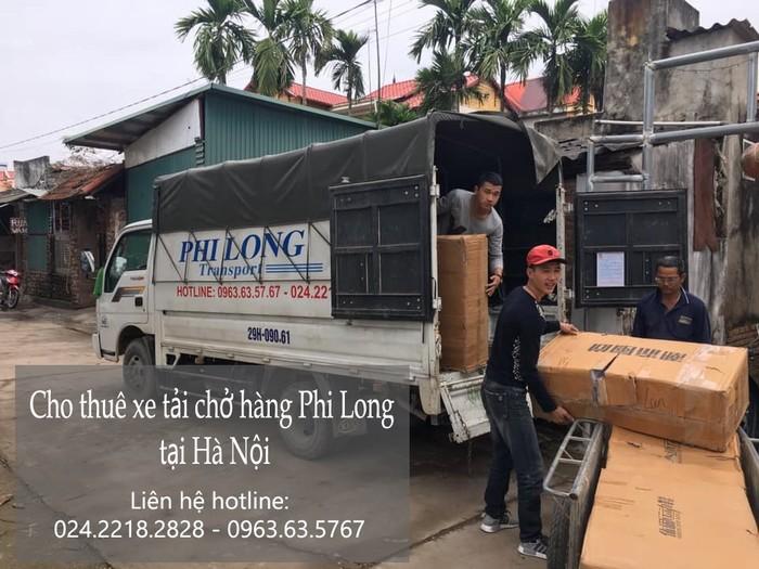 Dịch vụ xe tải tại phố Lãn Ông