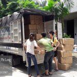 Dịch vụ xe tải tại phố Nguyễn Văn Hưởng