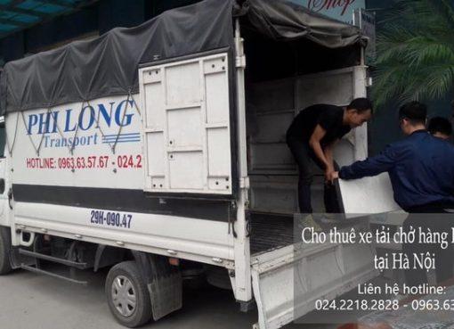 Dịch vụ xe tải chở hàng thuê tại phố Nguyễn Khả Trạc