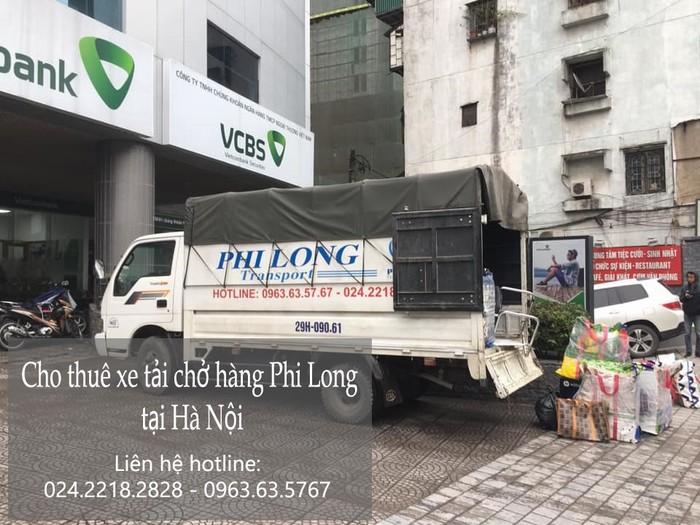 Dịch vụ xe tải giá rẻ tại phố Mạc Thái Tông