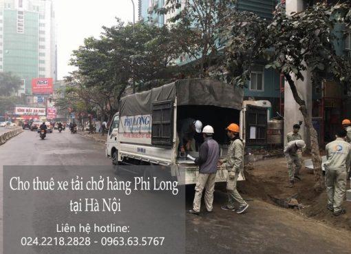 Dịch vụ xe tải giá rẻ tại phố Nghĩa Tân