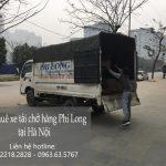 Dịch vụ xe tải tại phố Lê Văn Lương