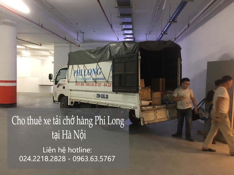 Dịch vụ xe tải tại phố Thành Công