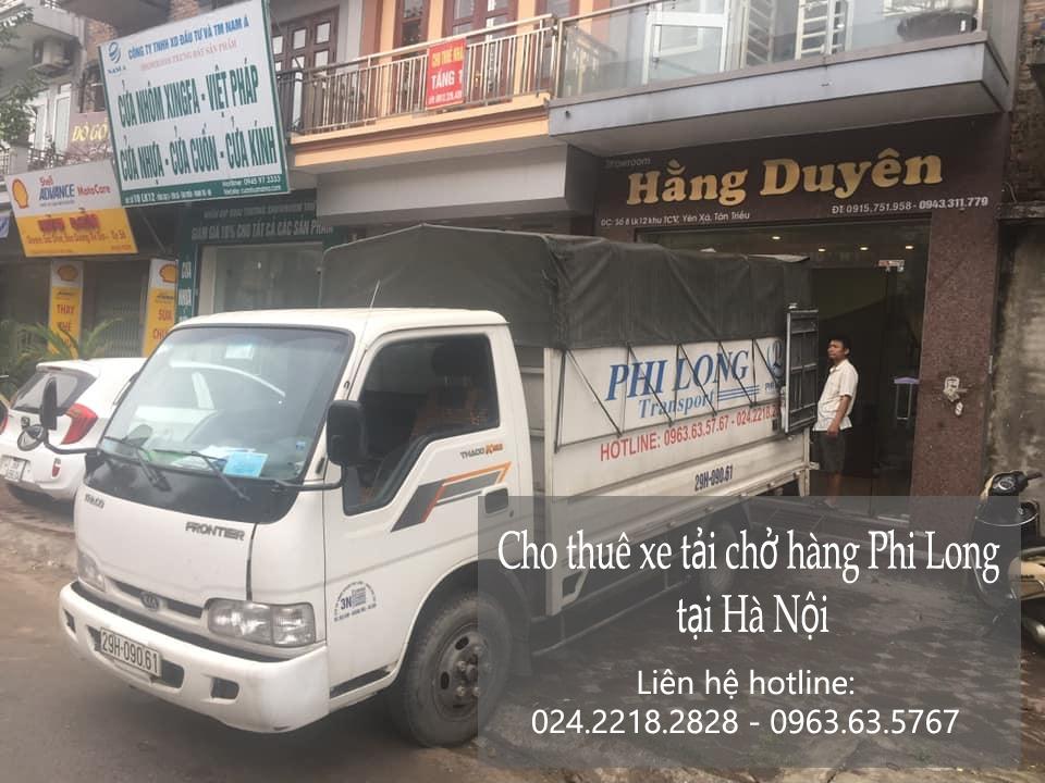 Dịch vụ xe tải chở hàng thuê tại phố Nguyễn Xí