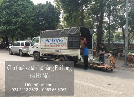 Dịch vụ xe tải tại phố Nguyễn Thanh Bình