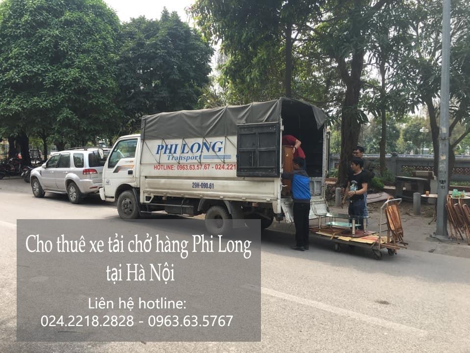 Dịch vụ xe tải tại phố  Cao Thắng