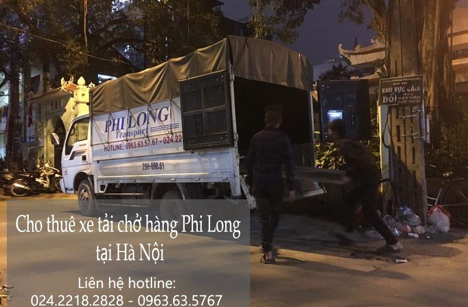 Dịch vụ xe tải Phi Long tại phố Ỷ Lan