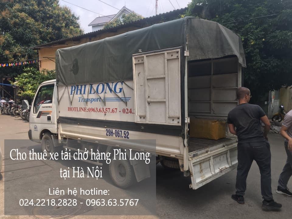 Dịch vụ xe tải giá rẻ tại phố Hoài Thanh