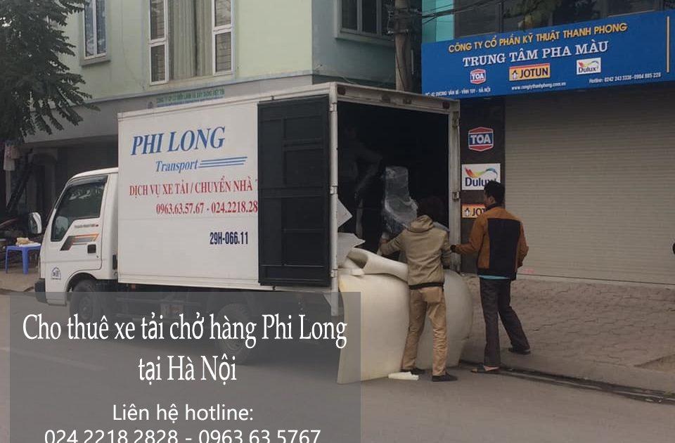 Dịch vụ xe tải tại phố Trung Kiên