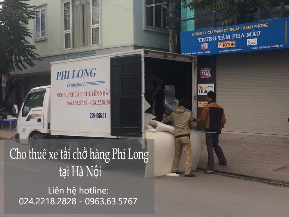 Dịch vụ xe tải tại phố Thanh Bảo