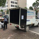 Dịch vụ xe tải Phi Long tại phố Đống Mác
