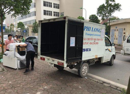 Dịch vụ xe tải Phi Long tại phố Phan Bá Vành