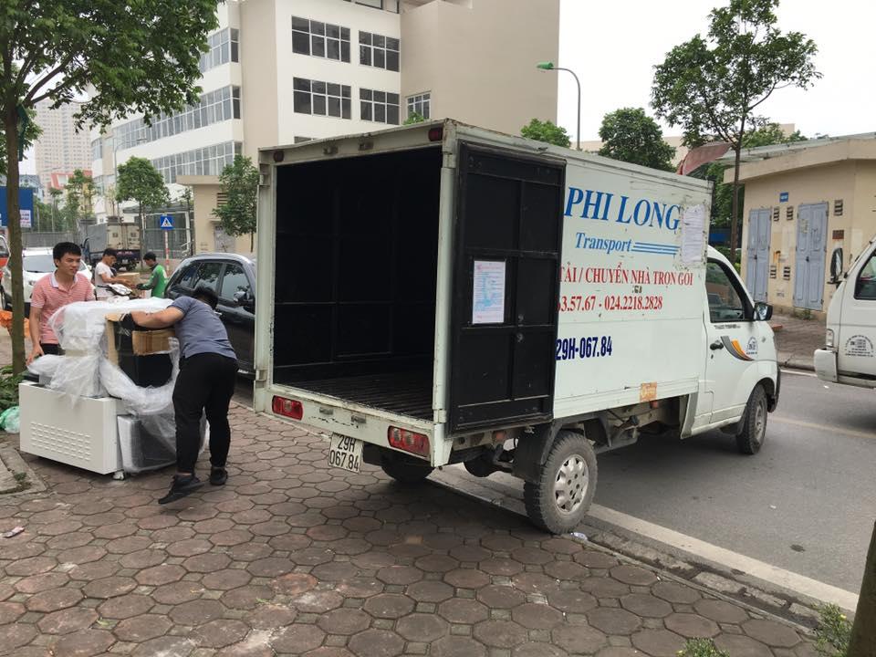 Dịch vụ xe tải Phi Long tại phố Yên Lạc
