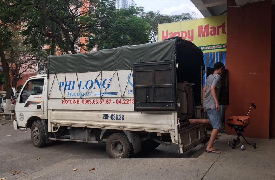 Dịch vụ xe tải tại phố Hà Trung