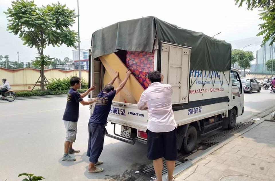 Dịch vụ xe tải tại phố Nguyễn Xuân Viết