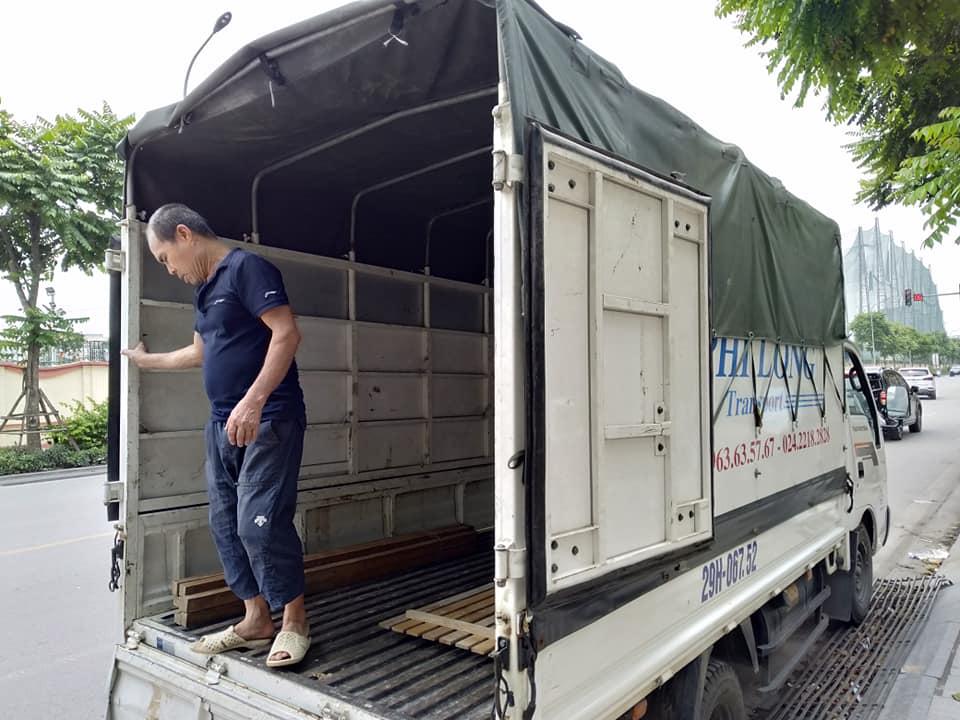 Dịch vụ xe tải Phi Long tại phố Đoàn Khuê