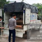 Dịch vụ xe tải chuyển nhà giá rẻ tại phố Quảng Khánh