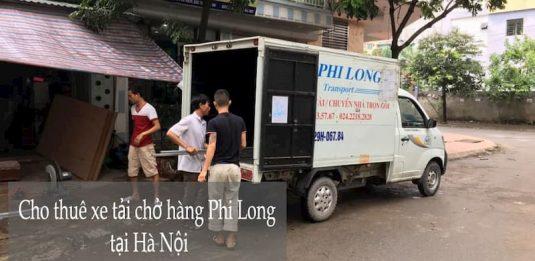 Dịch vụ cho thuê xe tải tại phố Bát Khối