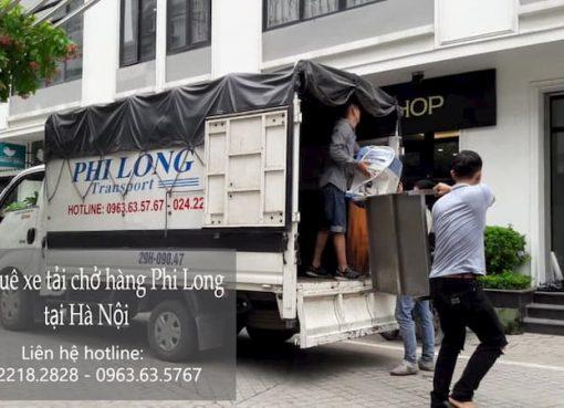 Dịch vụ xe tải tại phố Lê Văn Hiến 2019