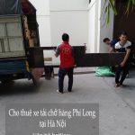 Dịch vụ xe tải Phi Long tại phố Phú Diễn 2019