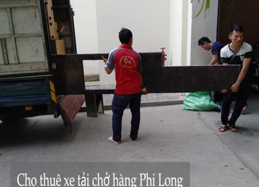 Dịch vụ xe tải Phi Long tại phố Thanh Lân