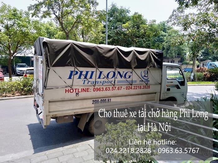 Dịch vụ xe tải Phi Long tại phường Cống Vị