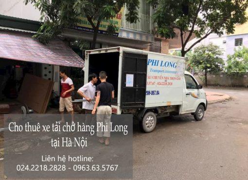Dịch vụ xe tải Phi Long tại phố Đặng Vũ Hỷ