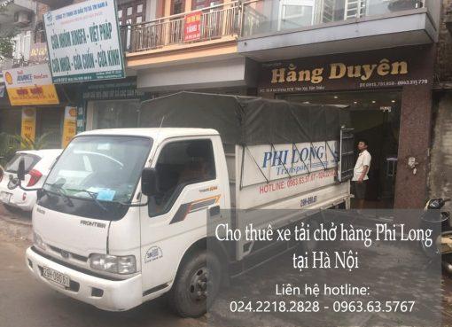 Dịch vụ cho thuê xe tải Phi Long tại phố Hoàng Thế Thiện