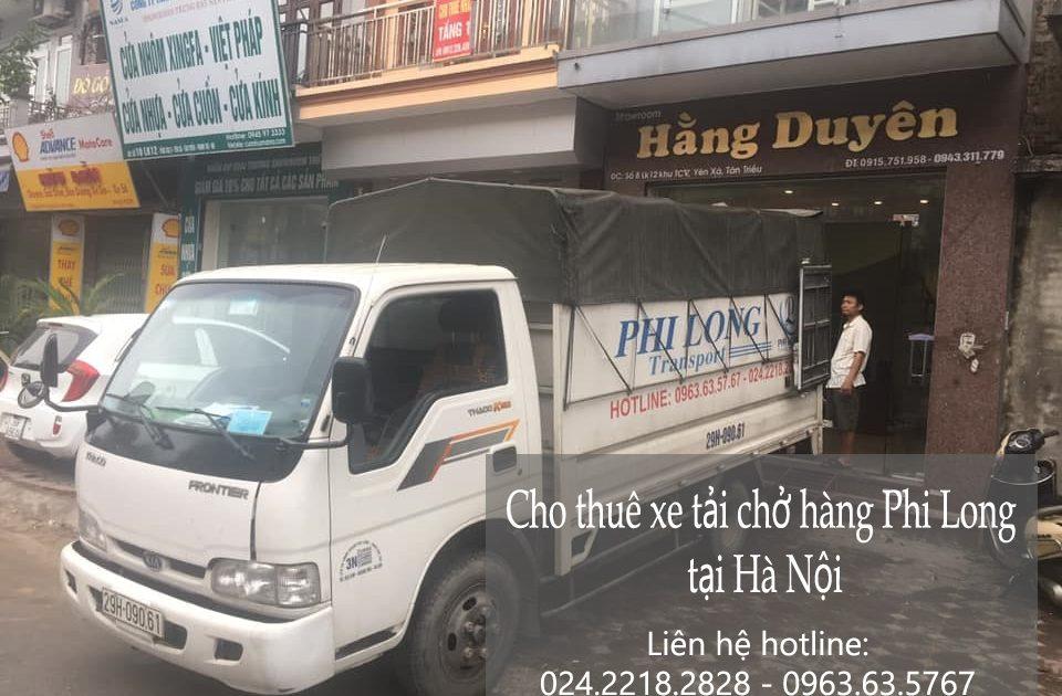 Dịch vụ xe tải Phi Long tại phố Cổ Linh