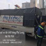Dịch vụ xe tải Phi Long tại phố Đức Giang
