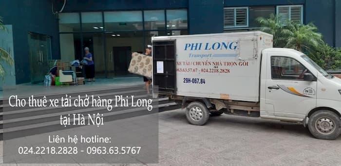 Dịch vụ xe tải tại phố Hồng Quang