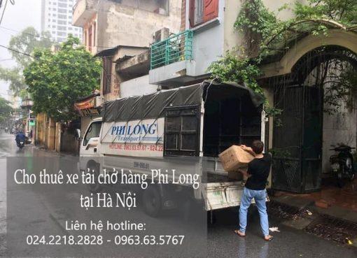 Dịch vụ xe tải tại phố Trường Sa