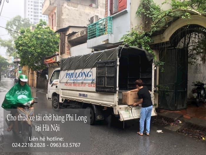 Dịch vụ xe tải tại phố Trần Nguyên Đán