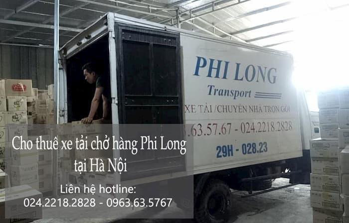 Dịch vụ xe tải tại phố Phương Trạch