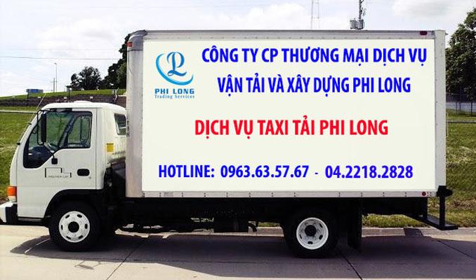 Dịch vụ xe tải giá rẻ Phi Long tại phố Huỳnh Văn Nghệ