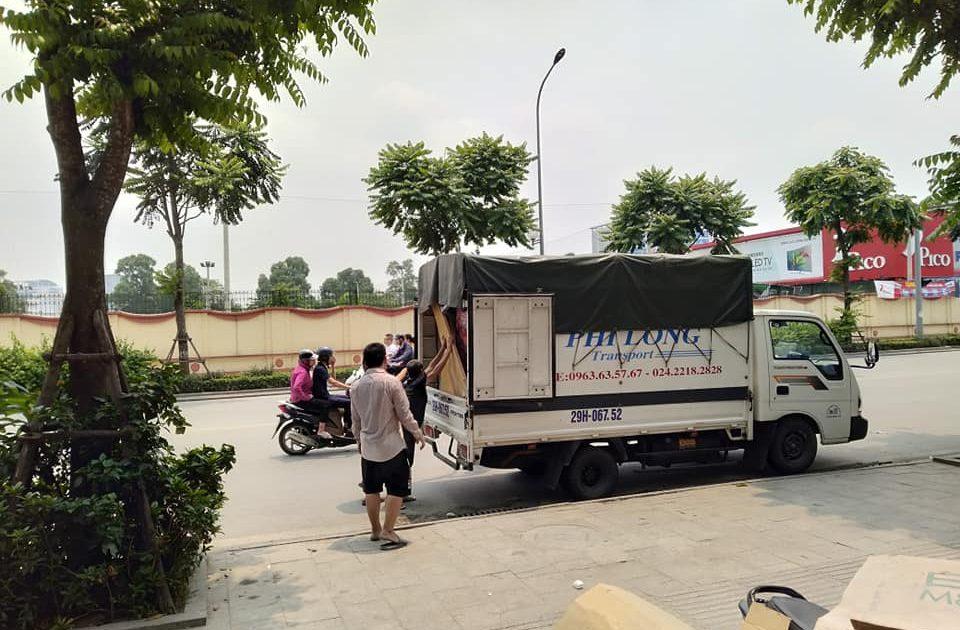 Dịch vụ xe tải chuyên nghiệp tại phố Châu Văn Liêm