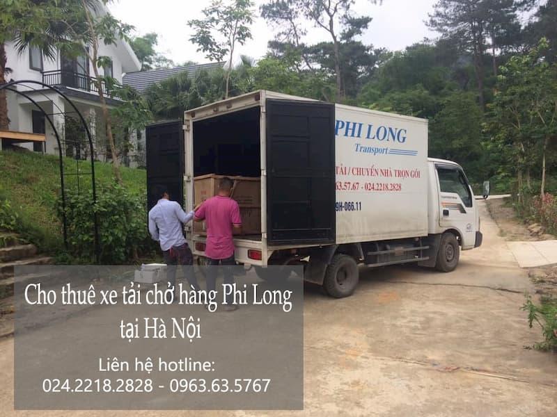 Dịch vụ xe tải chuyên nghiệp Phi Long tại phố Đặng Thùy Trâm