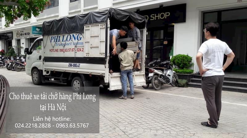 Dich vụ xe tải trọn gói Phi Long tại phố Cầu Diễn