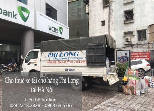 Dịch vụ cho thuê xe tải Phi Long tại phố Hồng Tiến