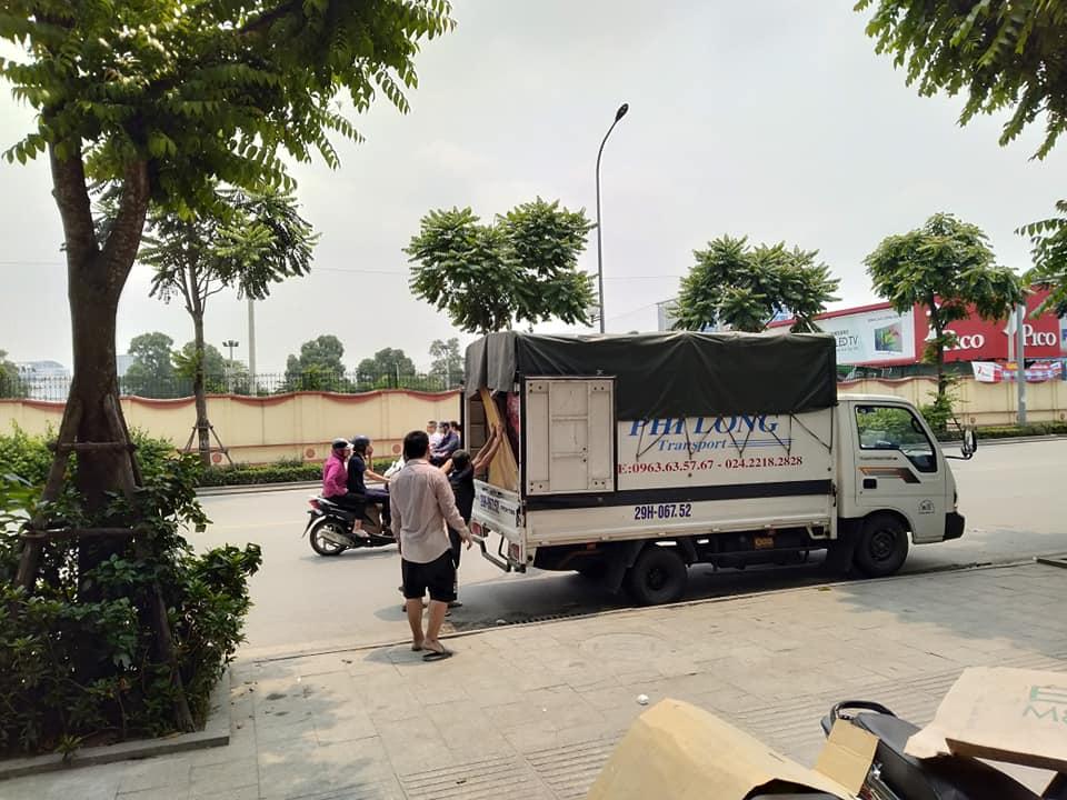 Phi Long xe tải trọn gói tại phố Hoàng Công Chất