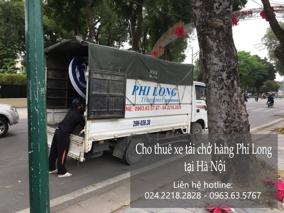 Dịch vụ xe tải giá rẻ Phi Long tại phố Hoàng Quốc Việt